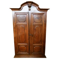 19th Century Spanish Walnut Cupboard