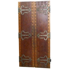 19th Century Spanish Walnut Door