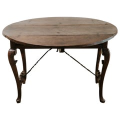 19th Century Spanish Walnut Table