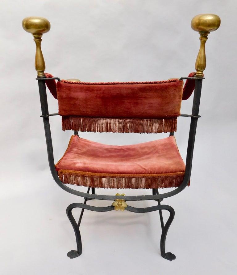 Beautifully made 19th century Spanish armchair