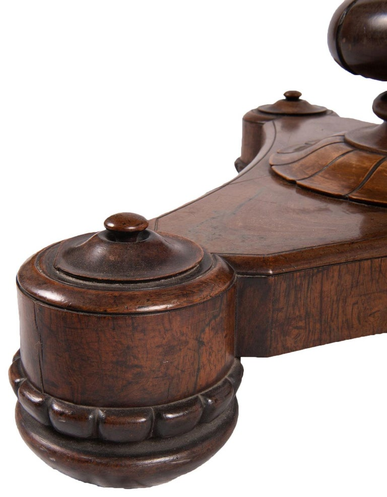 19th Century Specimen Mable Top Table, by J. Darmanin and Sons For Sale 1