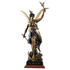 19th Century Spelter Statue of Victory