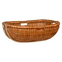 19th Century Split Oak Basket