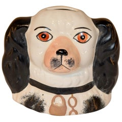19th Century Staffordshire Dog Bank
