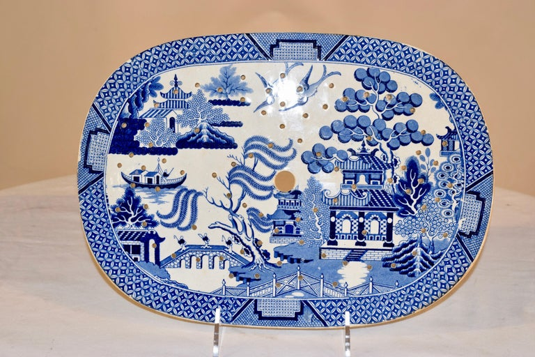 Victorian 19th Century Staffordshire Drainer For Sale