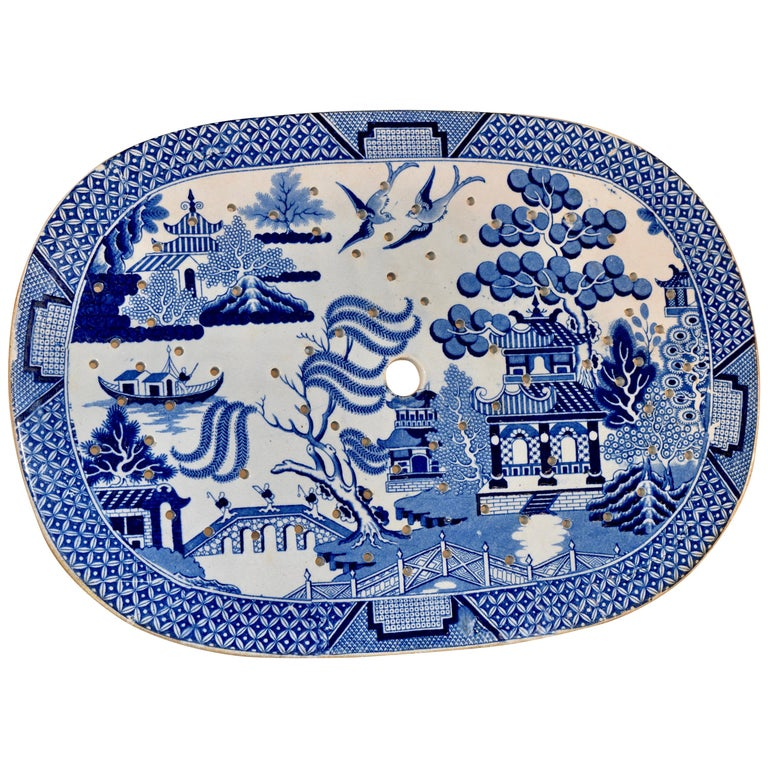 19th Century Staffordshire Drainer For Sale