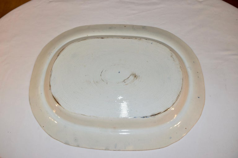 Early Victorian 19th Century Staffordshire 'Philosopher' Platter For Sale