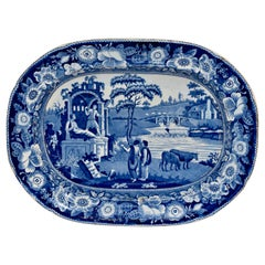 19th Century Staffordshire 'Philosopher' Platter