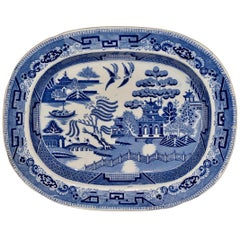 19th Century Staffordshire Platter