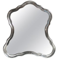 19th Century Sterling Silver Mirror by Josef Carl Klinkosch