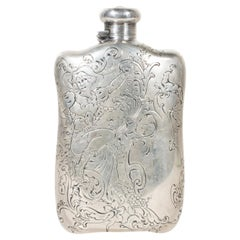 19th Century Sterling Silver Tiffany & Co. Flask