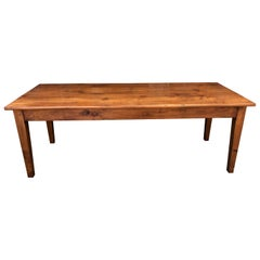 19th Century Style French Cherry Farm Table