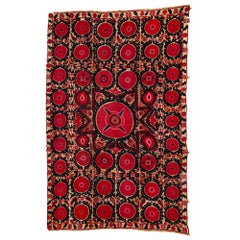 19th Century Suzani Bukhara Textile Work