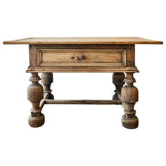 19th Century Swedish Baroque Table