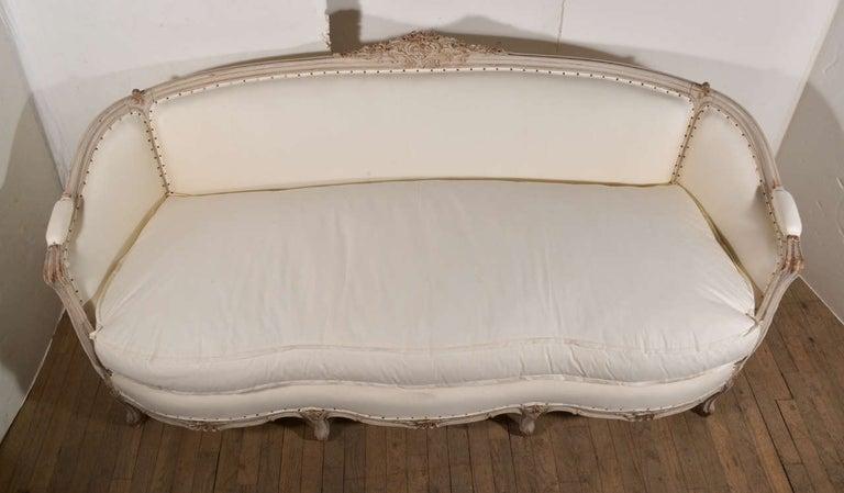 19th Century Swedish Canapé Sofa For Sale 4