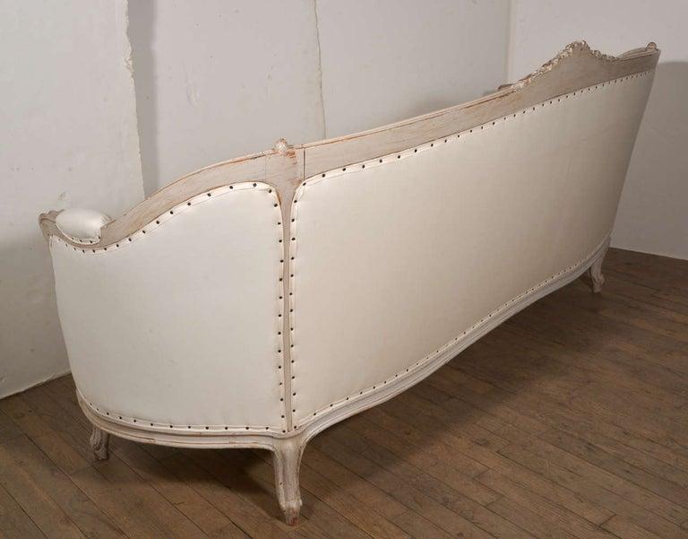 19th Century Swedish Canapé Sofa For Sale 3