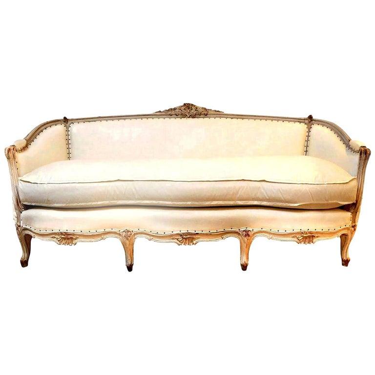 19th Century Swedish Canapé Sofa For Sale 6