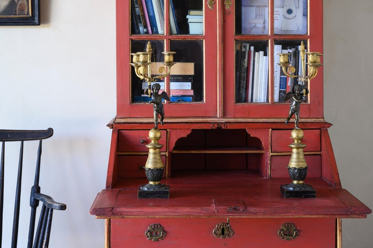 Empire 19th Century Swedish Candelabra For Sale