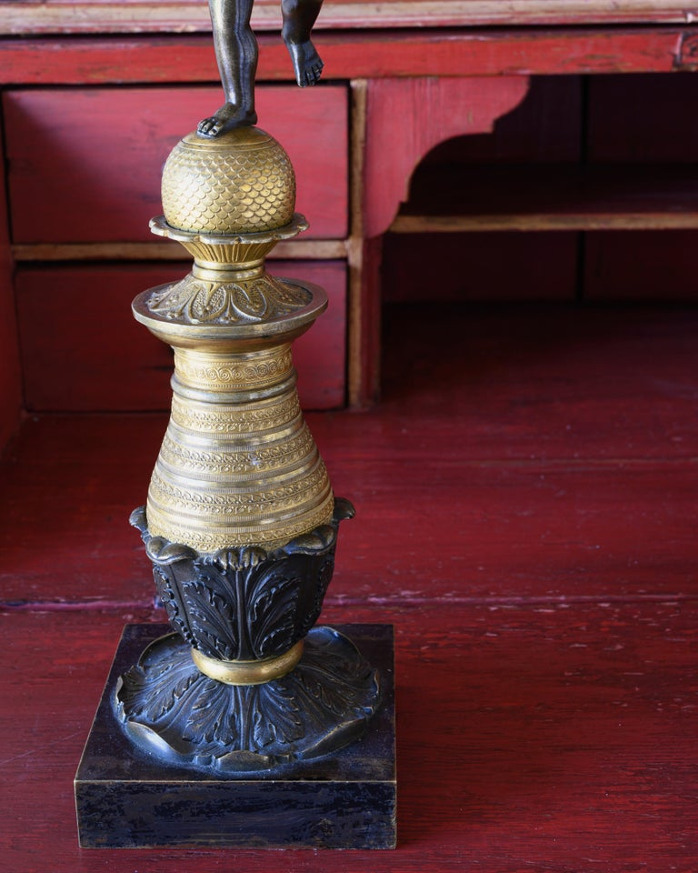 19th Century Swedish Candelabra In Good Condition For Sale In Helsingborg, SE
