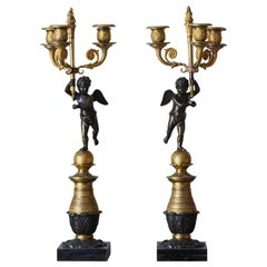 19th Century Swedish Candelabra