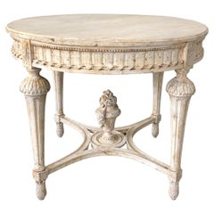 19th Century Swedish Center Table