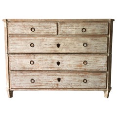 19th Century Swedish Chest of Drawers