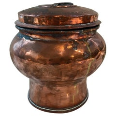 19th Century Swedish Copper Covered Urn