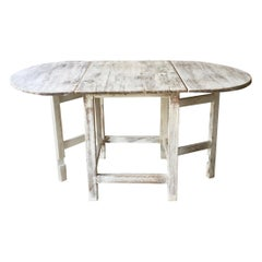 19th Century Swedish Gateleg Table