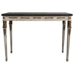 19th Century Swedish Gustavian Console Table