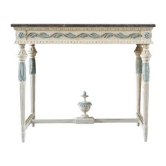 19th Century Swedish Gustavian Console Table