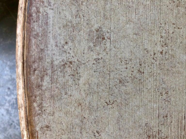 19. Jahrhundert Schwedischer Gustavianischer Ausziebarer Tisch 10