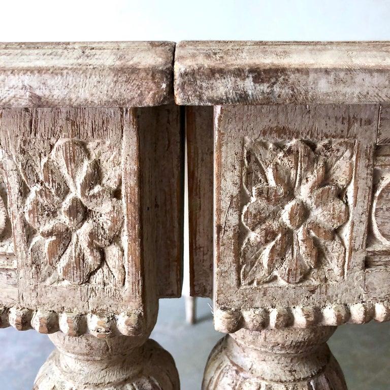 19. Jahrhundert Schwedischer Gustavianischer Ausziebarer Tisch 5