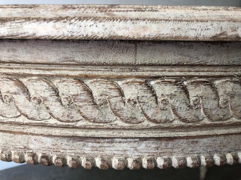 19. Jahrhundert Schwedischer Gustavianischer Ausziebarer Tisch 6