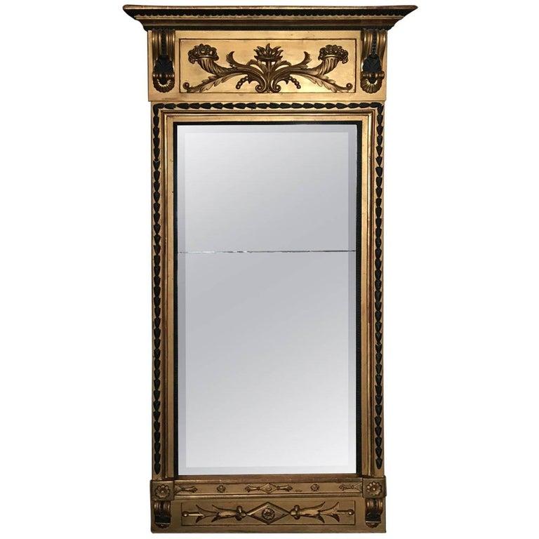 19th Century Swedish Gustavian Mirror