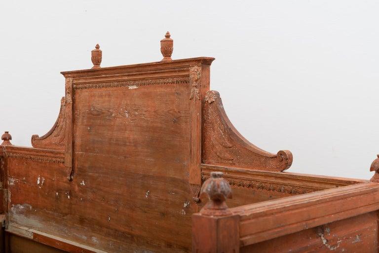 Pine 19th Century Swedish Gustavian Sofa For Sale