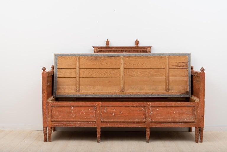 19th Century Swedish Gustavian Sofa For Sale 3