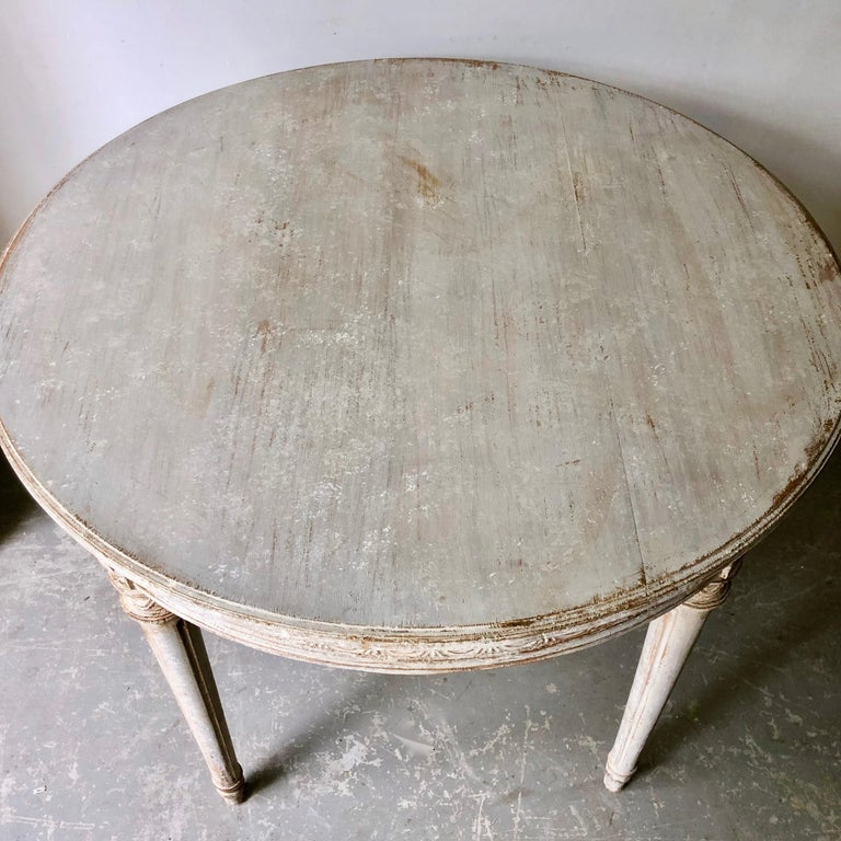 19th Century Swedish Gustavian Style Centre Table For Sale 2
