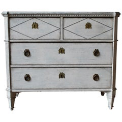 19th Century Swedish Gustavian Style Chest of Drawer