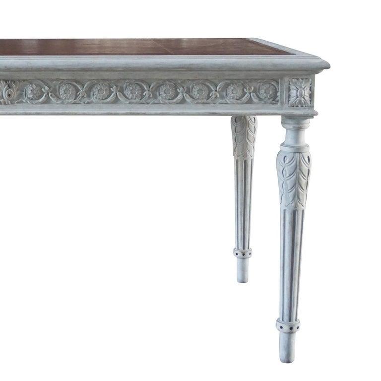 Pine 19th Century Swedish Gustavian Writing Desk For Sale