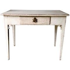 19th Century Swedish Gustavian Writing Table