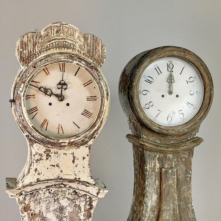 19th Century Swedish Long Case Clock For Sale 8