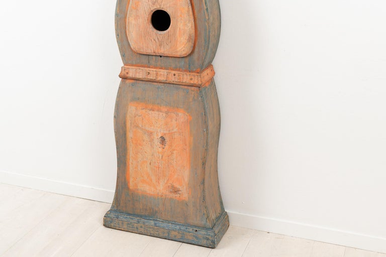 19th Century Swedish Long Case Clock from Nusnäs For Sale 4