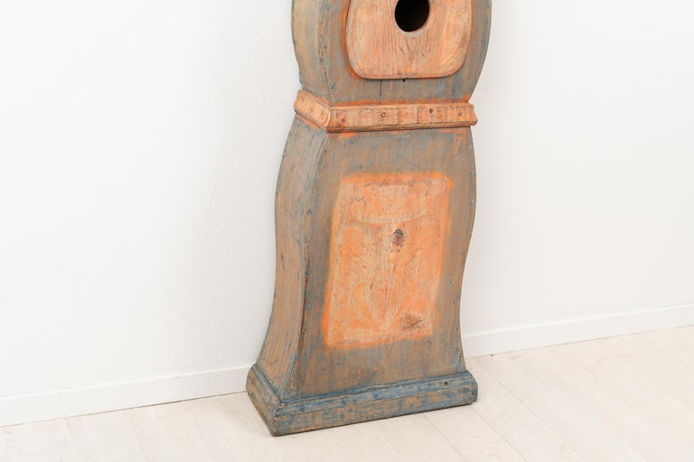 19th Century Swedish Long Case Clock from Nusnäs For Sale 5