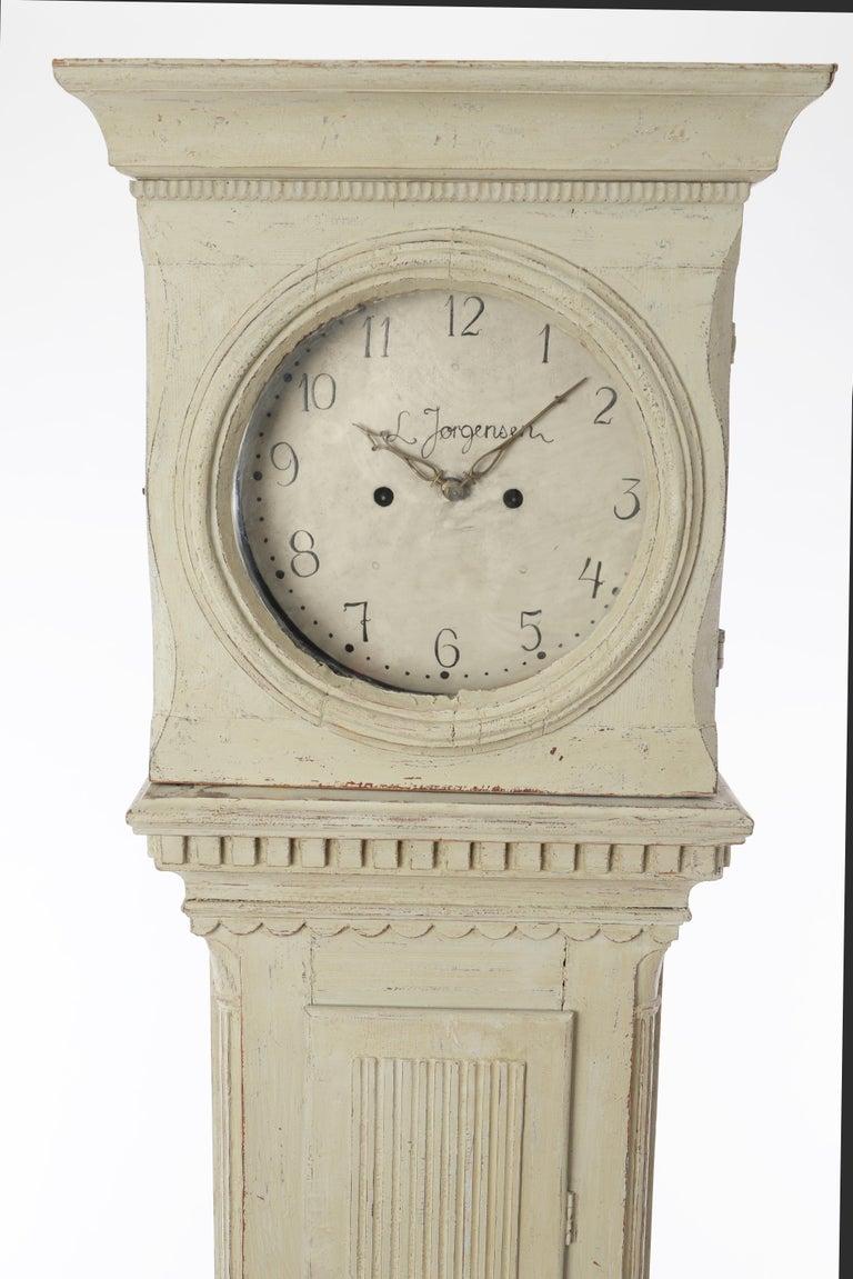 19th Century Swedish Longcase Clock 4