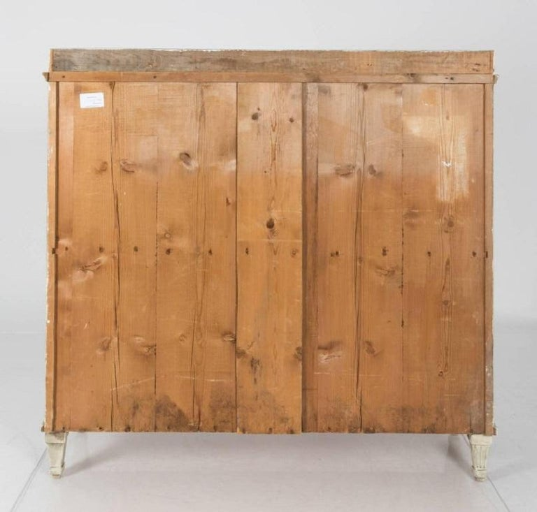 19th Century Swedish Painted Buffet Table For Sale 1