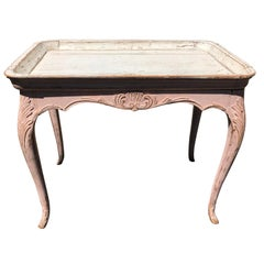 19th Century Swedish Painted Tray Table