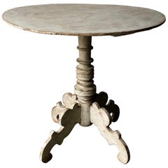19th Century Swedish Pedestal Table