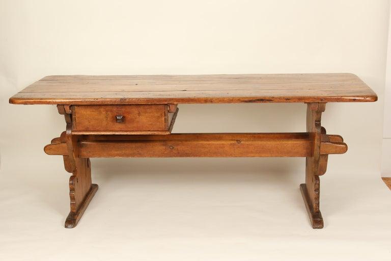 19th Century Swedish Pine Dining Room Table