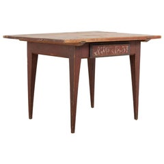 19th Century Swedish Provincial Gustavian Table