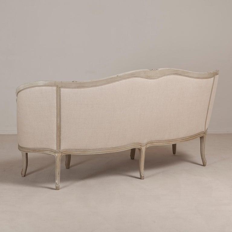19th Century Swedish Rococo Inspired Sofa, circa 1880 For Sale 1